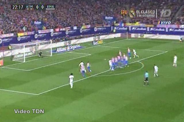 Atlético Madrid 0-3 Real Madrid - Golo de Cristiano Ronaldo (77min)