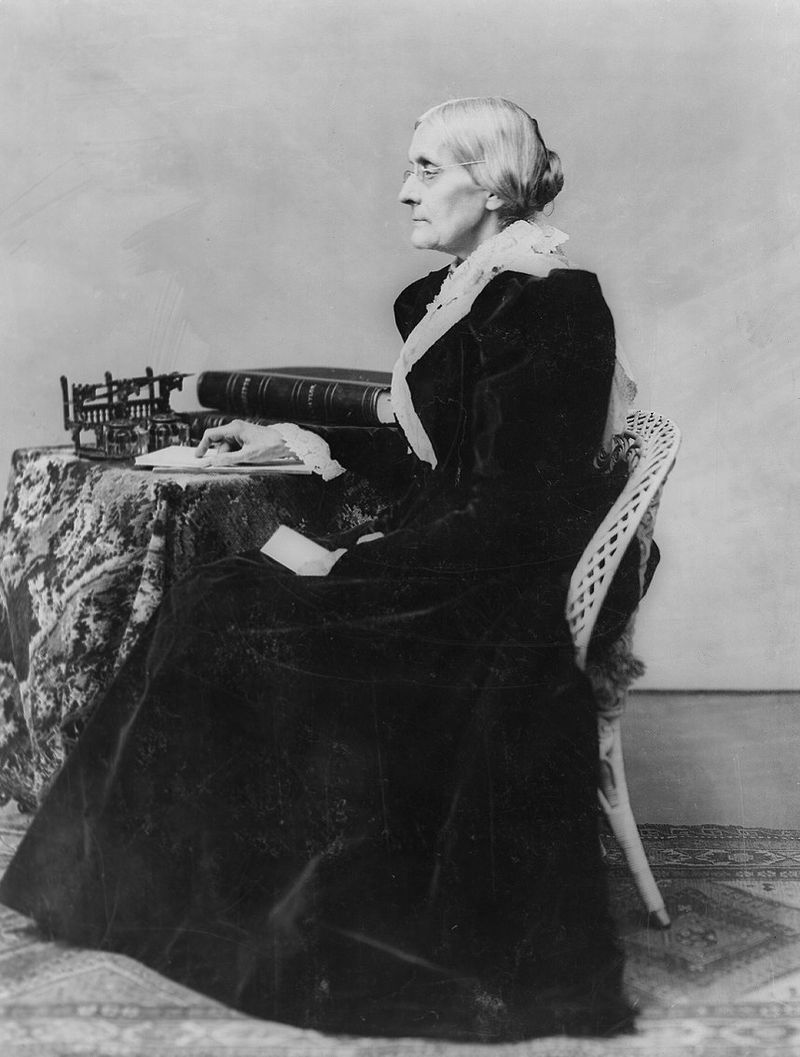 susan b anthony research paper